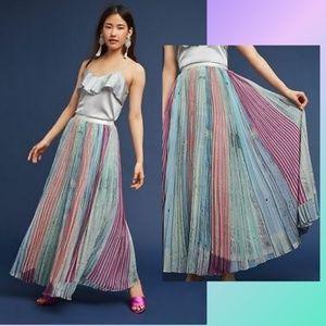 Anthropologie Geisha Designs Lily Pleated Skirt